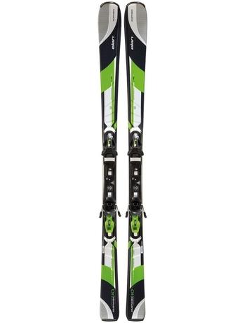 Горные лыжи Elan Amphibio 10 green + крепления EL 10.0 13/14