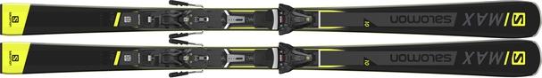 Горные лыжи Salomon S/Max 10 + крепления Z 12 Walk (18/19)