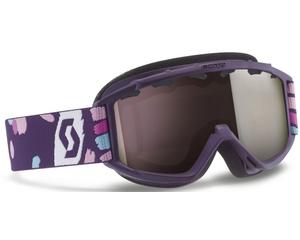Маска Scott Hook Up Jr Purple / Silver Chrome