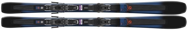 Горные лыжи Salomon XDR 76 ST R + крепления Lithium 10 (18/19)