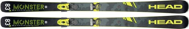 Горные лыжи Head Monster 83 X + крепления Attack2 13 (19/20)