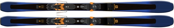 Горные лыжи Salomon XDR 84 Ti + Warden MNC 13 Demo (17/18)