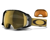 Маска Oakley Airbrake Shaun White Sign. Gold Future Primitive / 24K Iridium + Persimmon