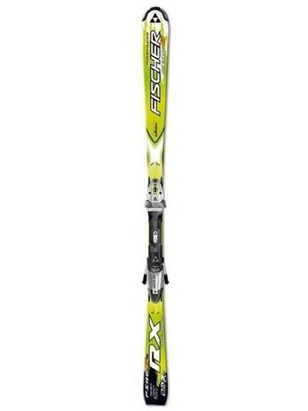 Горные лыжи Fischer RX 6 Fire + крепления FS10 RAILFLEX 2 07/08