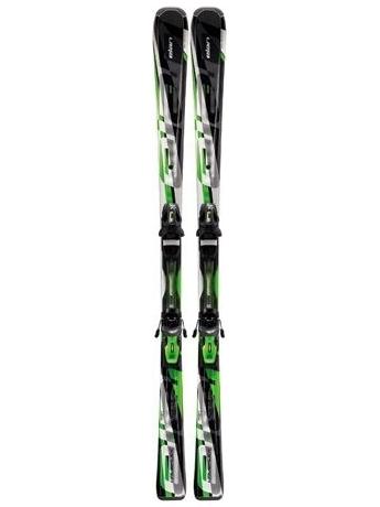 Горные лыжи с креплениями Elan Waveflex 72 QT + EL 10 12/13