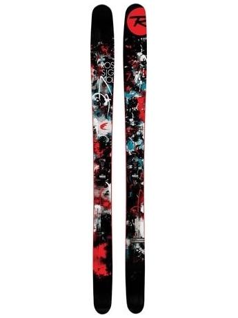 Горные лыжи с креплениями Rossignol Super 7 + FKS 140 XXL Fluo 12/13