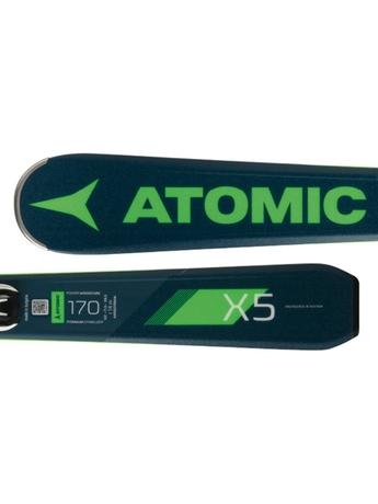 Горные лыжи Atomic Redster X5 + крепления FT 11 GW 18/19