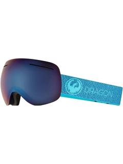 Маска Dragon X1 Mill / Lumalens Blue Ionized + Lumalens Amber