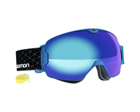 Маска Salomon XMax Blue / Blue + Light Yellow Multilayer Low Light