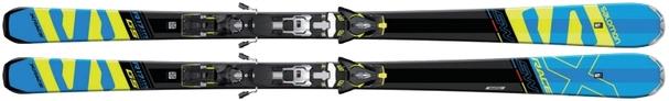Горные лыжи Salomon X-Race SW + крепления Z12 Speed (17/18)