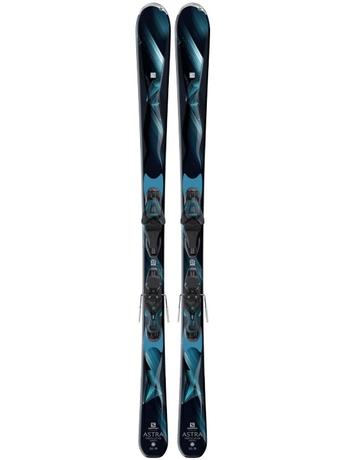 Горные лыжи Salomon Astra + крепления Lithium 10 W 16/17