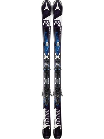 Горные лыжи Atomic Blackeye Ti + крепления XTO 12 15/16