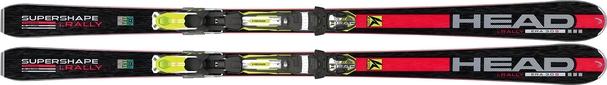 Горные лыжи Head i.Supershape Rally + PRD 14 S BR80 (14/15)