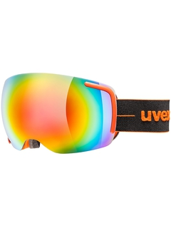 Маска Uvex Big 40 FM Orange Mat / Mirror Rainbow Clear