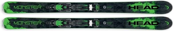 Горные лыжи Head Monster 108 + крепления Adrenalin 16 (16/17)