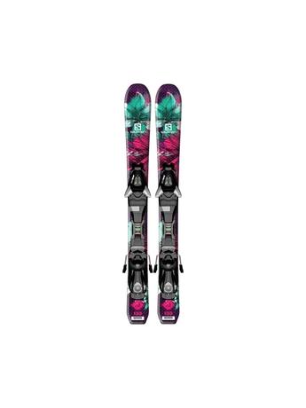 Горные лыжи Salomon Q-Lux Jr XS + крепления EZY5 15/16
