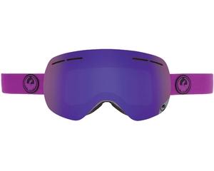 Маска Dragon X1S Violet / Purple Ionized + Yellow Red Ionized