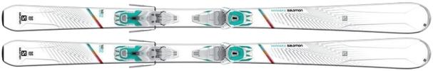 Горные лыжи Salomon W-Max 6 + крепления Lithium 10 W (16/17)