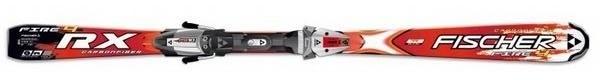 Горные лыжи Fischer RX 4 Fire + крепления FS10 RAILFLEX 2 (07/08)