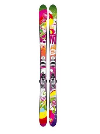 Горные лыжи Rossignol Scratch Steeze + крепления AXIAL2 200 FREE XXL 07/08