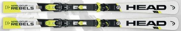 Горные лыжи Head Worldcup Rebels i.SL + крепления Freeflax EVO 16 (16/17)