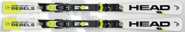 Горные лыжи Head Worldcup Rebels i.SL + крепления Freeflex EVO 11 (16/17)