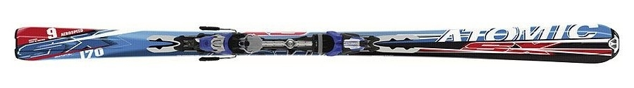 Горные лыжи Atomic SX 9 ppl + крепления 4Tix 412 07/08 (07/08)