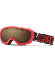 Детская маска Giro Chico Red / Black Camo / Amber Rose 40