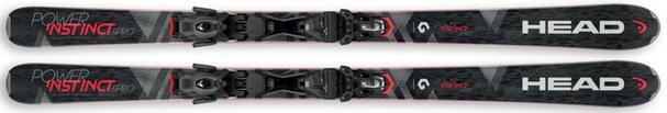 Горные лыжи Head Power Instinct Ti Pro + крепления PRD 12 (17/18)