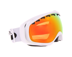 Маска Oakley Crowbar Matte White / Fire Iridium