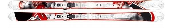Горные лыжи Rossignol Scratch Ghetto + крепления SCRATCH TI 140 (07/08)