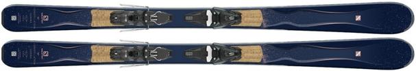 Горные лыжи Salomon Gemma + крепления Mercury 11 (17/18)