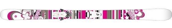 Горные лыжи Rossignol Trixie + крепления SCRATCH 100 (07/08)