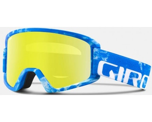 Маска Giro Semi Blue Rocksteady / Grey Cobalt + Yellow