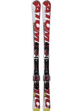Горные лыжи Atomic Race Ti SL + крепления NEOX TL 12 10/11