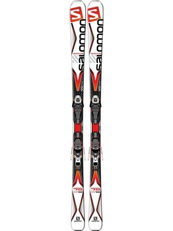 Горные лыжи Salomon X-Drive 7.5 + крепления Lithium 10 15/16
