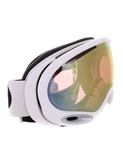 Маска Oakley A-Frame 2.0 Polished White / VR50 Pink Iridium