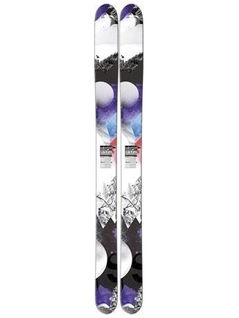 Горные лыжи без креплений Salomon N Rocker2 122 Black/White/Purple без креплений 12/13