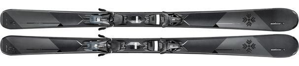 Горные лыжи Elan Delight Black Edition PS + крепления ELW 10 (17/18)
