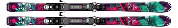 Горные лыжи Salomon Q-Lux Jr M + EZY7 (15/16)