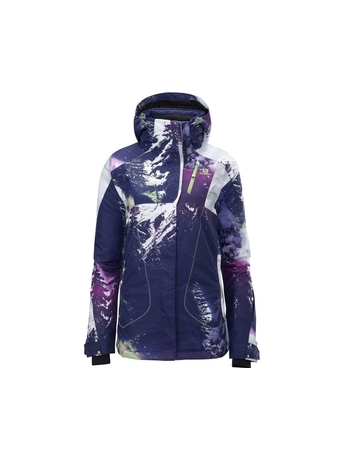 Куртка Salomon Zero Jacket W Wizard Violet/BY/GR 13/14