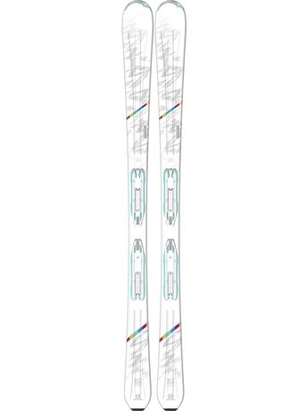 Горные лыжи Salomon W-Pro + крепления Lithium 10 W 15/16