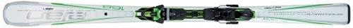 Горные лыжи Elan Speedwave 14 White Fusion + крепления ELX 12.0 Fusion green (09/10)