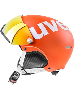 Горнолыжный шлем Uvex HLMT 500 Visor