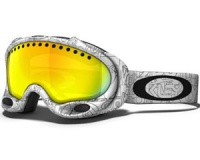 Маска Oakley A-Frame White Factory Text / Fire Iridium