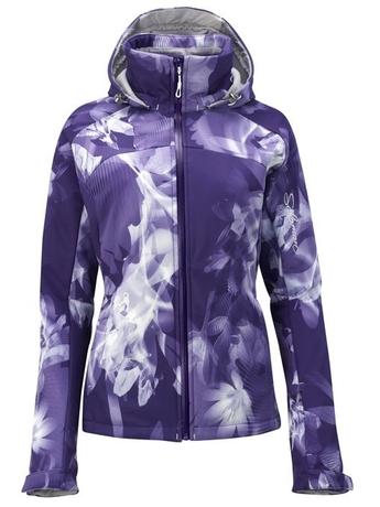 Куртка Salomon SnowTrip Premium 3.1 Jacket W Eggplant/White