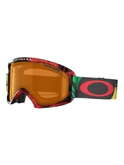 Маска Oakley 02 XL Burned Out Rasta / Persimmon