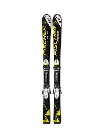 Горные лыжи Fischer RC4 Race Jr + крепления FJ4 AC 14/15