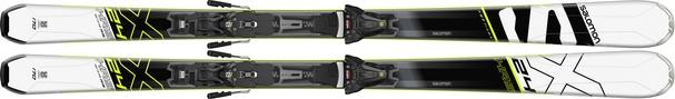 Горные лыжи Salomon 24 Hours Max + крепления Z12 (18/19)