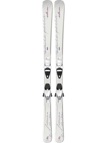 Горные лыжи Elan White Perla QT + крепления EL 7.5 15/16